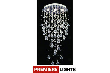 Premiere Luminaire Montreal Ligthing Chandeliers Home Light Fixtures Crystal Bubbles