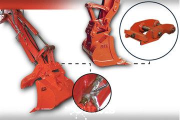 Attachement Buck Attachment in Magog: Attaches rapides mécaniques ou hydrauliques