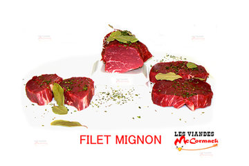 Viandes McCormack Inc in Verdun: Notre Succulent Filet-Mignon