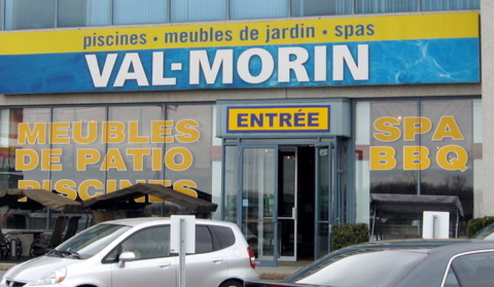 Piscines val morin laval qc ourbis for Club piscine a laval