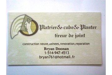 platrier&cube&plaster