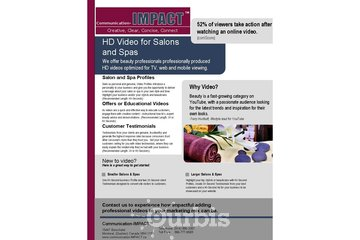 New Horizons Consulting - Communication-IMPACT à Montréal: Video Marketing for Salons and Spas