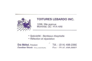 Toitures Lebardo Inc
