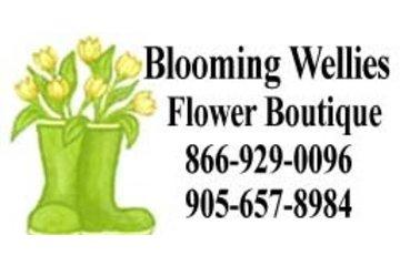 Blooming Wellies Flower Market