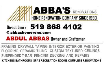 Abbas's  Renovations