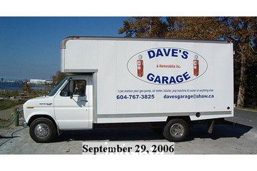 Dave's Garage & Memorabilia Inc