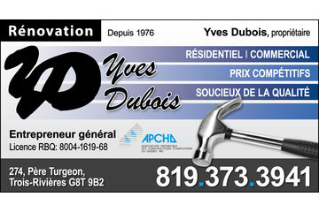 Rénovation Yves Dubois