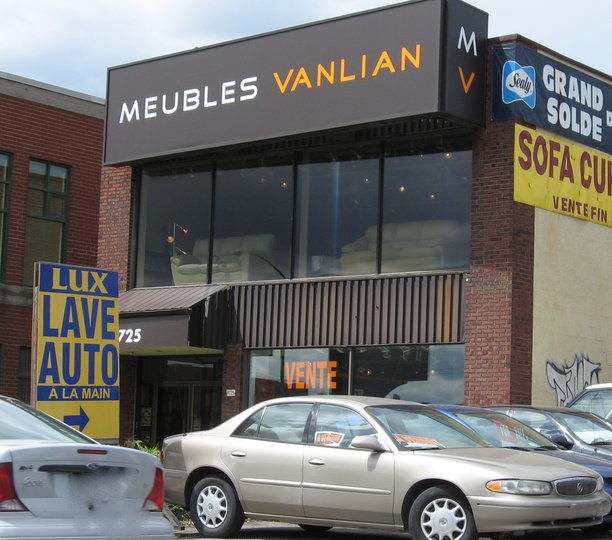 Meubles vanlian montr al qc ourbis for Meubles wellington montreal