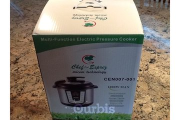 Chef~Exprez Biz Center in North Vancouver: All-in-One Electric Pressure Cooker 50%off