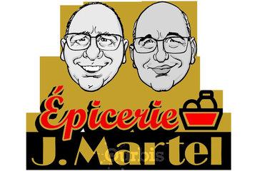 Épicerie J Martel in Quebec: logo