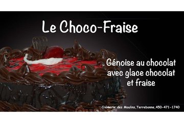 Crémerie Des Moulins in Terrebonne: Gâteau choco-fraise
