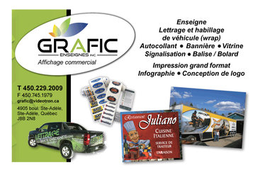 GRAFIC ENSEIGNES INC.