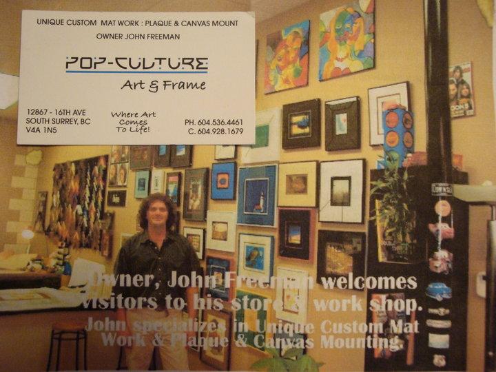 Encantador Picture Framing Surrey Bc Bandera - Ideas de Arte ...