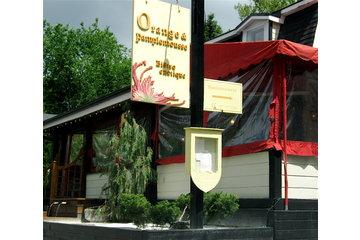 Cafe Bistro Orange & Pamplemousse