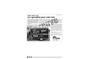Toiture Alain St-Jean in Saint-Basile-le-Grand