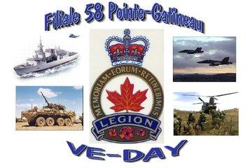 Legion Royale Canadienne - Filiale Pointe-Gatineau 58 à Gatineau: Remembering our veterans for their ultamate sacrifice