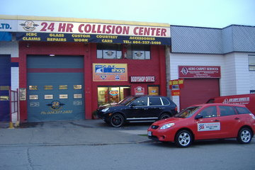 24HR Collision Center-autobody collision repair vancouver in Vancouver: front view of drop off area
