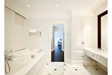 Réal Boulanger Design + Architecture in Saint-Jean-sur-Richelieu: Réaménagement salle de bain