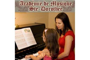 Académie De Musique Ste-Dorothée à Laval: cours de piano, guitare et chant - Academie Ste-Dorothée