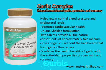 Shaklee Independent Distributor - Ian Paquette à calgary: Garlic Complex (Vegan)
