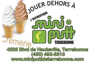 Crèmerie et  Mini-Putt Terrebonne à Terrebonne: Nouveau !!! Crèmerie printemps 2012 Mini Putt Terrebonne