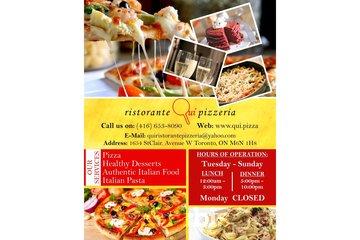 Qui Ristorante Pizzeria | Authentic Italian food in Toronto