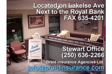 Braid Insurance Agencies Ltd in Terrace: Autoplan office