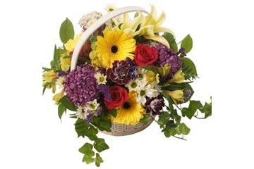 Forest Of Flowers in London: Basket arrangement