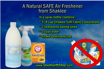 Shaklee Independent Distributor - Ian Paquette à calgary: Safe Natural Air Freshener