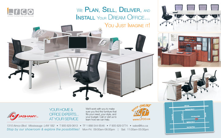 Lfco Office Furniture Solutions Mississauga On Ourbis