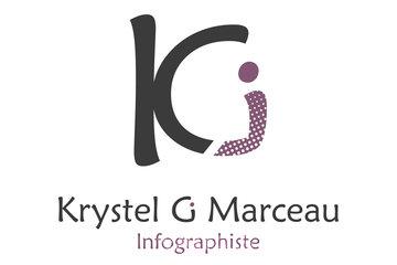 Krystel G. Marceau, Infographiste pigiste