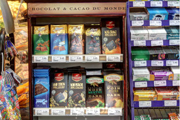 Marché Laurier à Montréal: Chocolats importés