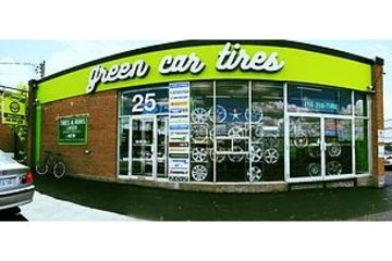Green Car Tires