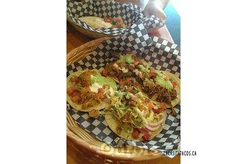 La Casita Tacos in Vancouver: tacos after biking at La Casita Tacos in Vancouver BC