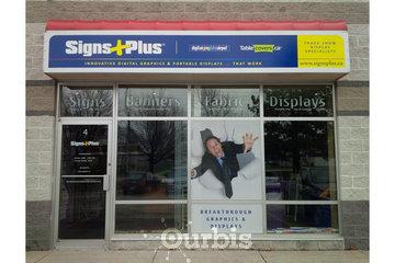 Signs Plus Inc. in Burlington: Signs Plus Inc. - front entrance