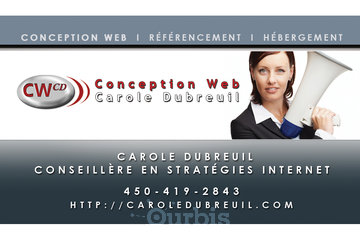 Conception web Carole Dubreuil