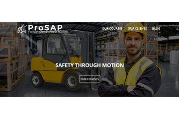 ProSAP Forklift and Equipment Training