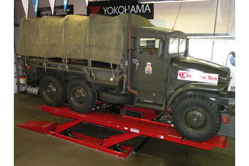 Integra Tire & Auto Centre in North Vancouver: 1956 Canadian Army M-135 - if we can lift this...we can lift yours!