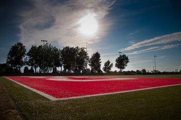 Collège St Jean Vianney à Montréal: Terrain de football de l'école secondaire privée st-jean-vianney à montréal