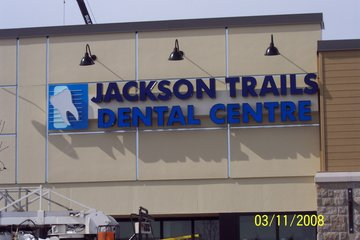 Dale Image & Display Solutions in Stittsville: Sample of LED Channel Lettering.