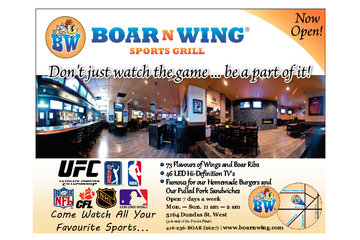 Boar N Wing Sports Grill Inc