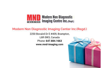 Modern Non Diagnostic Imaging Center Inc. Regd in brampton