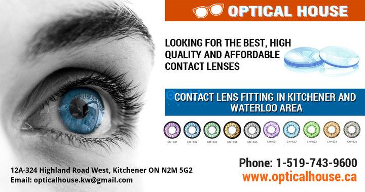 Optical Stores Kitchener Waterloo