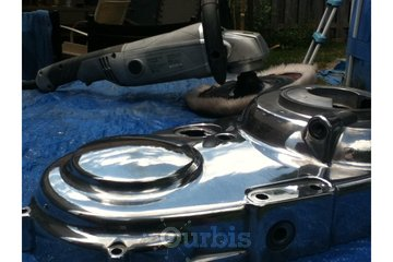 Gregs Metal Grinding in Oshawa: motorcycle parts mirror finish