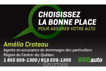Amélia Croteau, agente en assurance de dommages affiliée à SSQauto