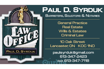 Paul Syrduk Lawyer