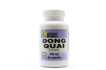 Westcoast Naturals in Richmond: Dong Quai Extract 500 mg 50 caps