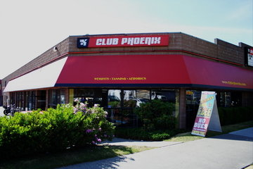 Club Phoenix in Victoria: Club Entrance