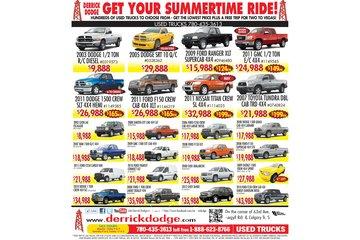 Derrick Dodge Chrysler Jeep Ram à Edmonton