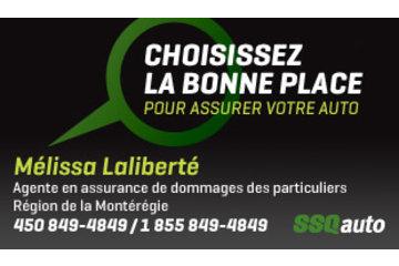 Mélissa Laliberté, agente en assurance de dommages des particuliers affiliée à SSQauto